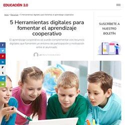 5 Herramientas digitales para fomentar el aprendizaje cooperativo
