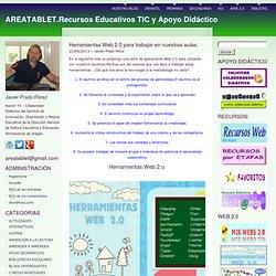 AREATABLET.Recursos Educativos TIC y Apoyo Didáctico