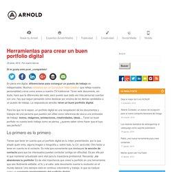 Herramientas para crear un buen portfolio digital