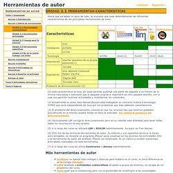 Unidad 2.1 Herramientas-características