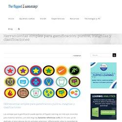 Herramientas simples para gamificación: puntos, insignias y clasificaciones