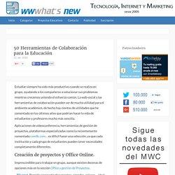 50 Herramientas de Colaboración para la Educación