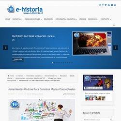 Herramientas On-Line Para Construir Mapas Conceptuales