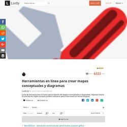 Herramientas en línea para crear mapas conceptuales y diagramas