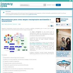 Herramientas para crear mapas conceptuales multimedia e interactivos