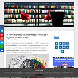 15 herramientas para crear mapas mentales y organizar tu conocimiento