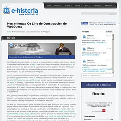 Clase 2 - Herramientas en Línea Para Construir Webquest