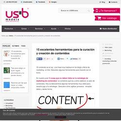 15 herramientas para la curación y creación de contenidos- USBModels