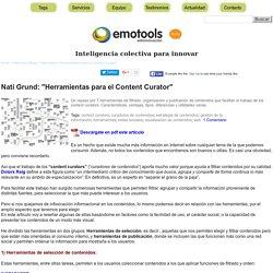 Vigilancia 2.0 y Content Curators - SACAR PROVECHO DE INTERNET (+ Conversación)