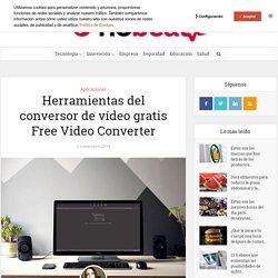 Herramientas del conversor de vídeo gratis Free Video Converter