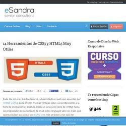 14 Herramientas de CSS3 y HTML5 Muy Útiles para Diseño Web