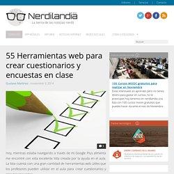 55 Herramientas web para crear cuestionarios y encuestas en clase