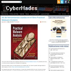 Kit de herramientas usadas en el libro Practical Malware Analysis