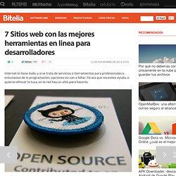 Sitios web con herramientas en linea para desarrolladores