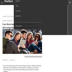 Forbes - Las herramientas para medir el desempeño en redes sociales 2015