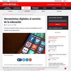 Herramientas digitales al servicio de la educación