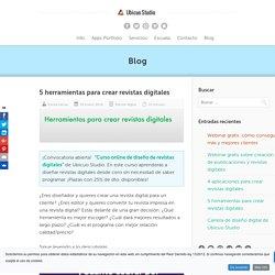 5 herramientas para crear revistas digitales