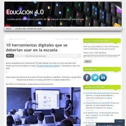 10 herramientas digitales que se deberían usar en la escuela