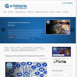 Catálogo de Herramientas TIC Educativas Para el 2016