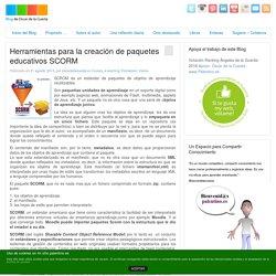 Blog - Herramientas para la creación de paquetes educativos SCORM