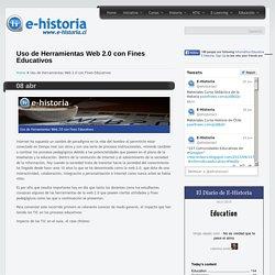 Uso de Herramientas Web 2.0 con Fines Educativos