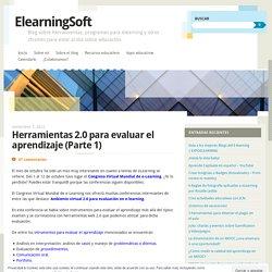 Herramientas 2.0 para evaluar el aprendizaje (Parte 1)