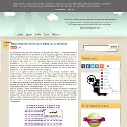 Herramientas online para trabajar la escritura