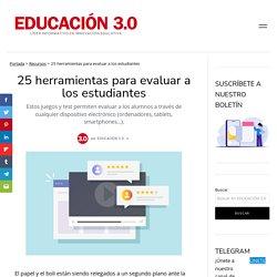 20 herramientas para evaluar a los estudiantes