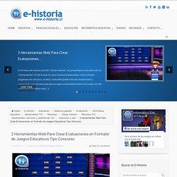 2 Herramientas Web Para Crear Evaluaciones en Formato de Juegos Educativos Tipo Concurso