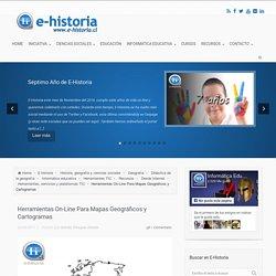 Herramientas On-Line Para Mapas Geográficos y Cartogramas