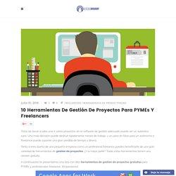 10 herramientas de gestión de proyectos para PYMEs