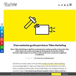 5 herramientas gratis para hacer Vídeo Marketing
