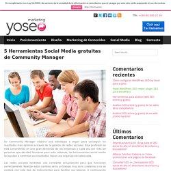 5 Herramientas Social Media gratuitas de Community Manager