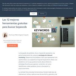 Las 12 mejores herramientas gratuitas para buscar keywords