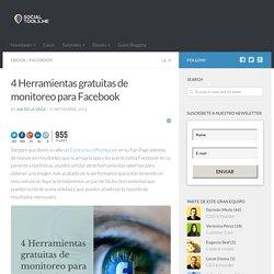 4 Herramientas gratuitas de monitoreo para Facebook
