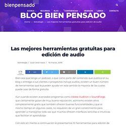 Herramientas gratuitas para edición de audio