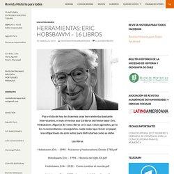 Herramientas: Eric Hobsbawm – 16 libros
