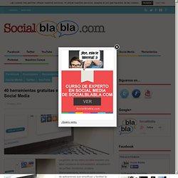 40 herramientas gratuitas e imprescindibles para Social Media