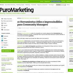 10 Herramientas útiles e imprescindibles para Community Managers