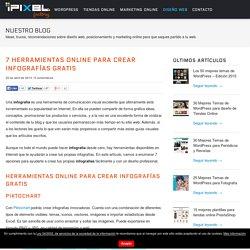 7 herramientas online para crear infografías gratuitas