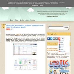 Flippity.net Herramientas, insignias y juegos con las hojas de cálculo de Google