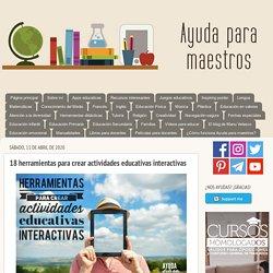 17 herramientas para crear actividades educativas interactivas