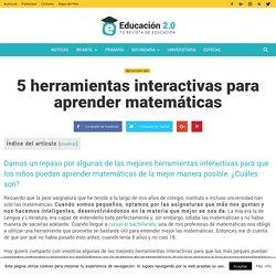 5 herramientas interactivas para aprender matemáticas