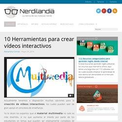10 Herramientas para crear vídeos interactivos