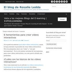 6 herramientas para crear videos interactivos - El blog de Rosalie Ledda