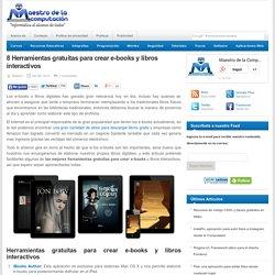 Herramientas gratuitas para crear e-books y libros interactivos