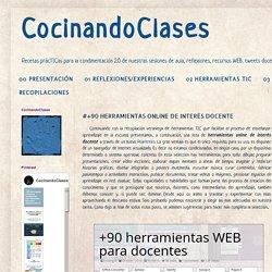 CocinandoClases: #+50 HERRAMIENTAS ONLINE DE INTERÉS DOCENTE