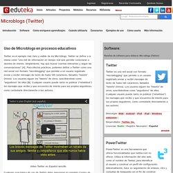 Herramientas: Microblogs (Twitter) > Introducci n