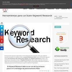 Herramientas para un buen Keyword Research