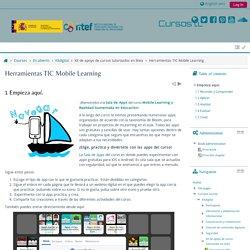 Herramientas TIC Mobile Learning: Empieza aquí.